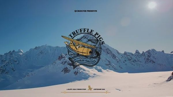 """Truffle Pigs"": in Alaska con lo spettacolare video degli snowboarder Travis Rice e Chris Rasman"