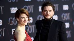 Kit Harington e Rose Leslie: belli, innamorati e glamour sul red carpet di Game of Thrones