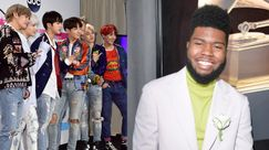 BTS e Khalid: featuring in vista!