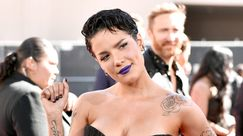 Halsey e un ardito rossetto viola ai Billboard Music Awards 2019