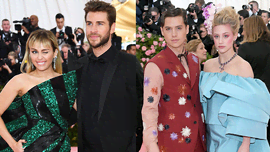 Liam e Miley, Joe e Sophie, Cole e Lili: le coppie famose al Met Gala 2019