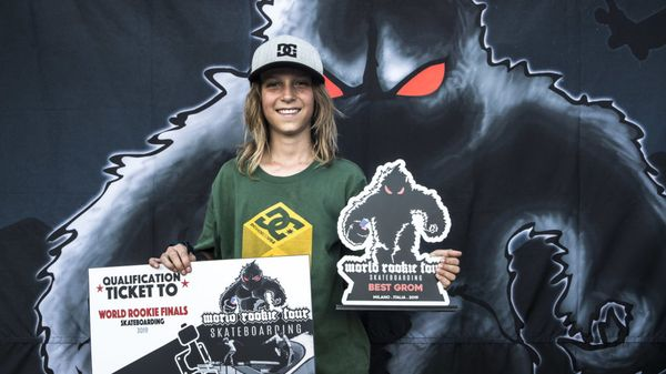 Andrès Martin: chi è il giovanissimo skater vincitore del Milano Rookie Fest