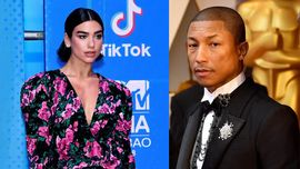 Dua Lipa in studio di registrazione con Pharrell: collaborazione in vista?