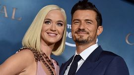 Katy Perry e Orlando Bloom: un raro red carpet insieme con tanto di bacio