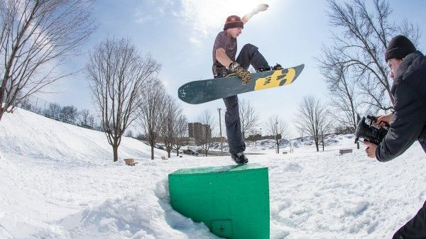Un'estate di snowboarding con Mike Rav! [Video]