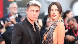 Bella Thorne e Benjamin Mascolo: un red carpet al bacio ai Fashion Awards 2019