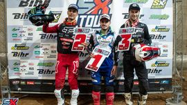 Angelo Pellegrini conquista il podio del Supercross di Barcellona! [Foto e video]