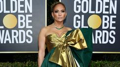 Unghie: La french manicure di JLo ai Golden Globes ha avuto un grazioso upgrade per l'after party