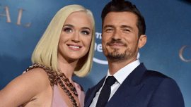 Orlando Bloom che descrive Katy Perry come