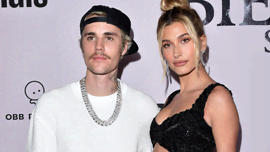 Justin e Hailey Bieber super fan di Billie Eilish con questo look da #IoRestoACasa