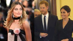 Margot Robbie ha lanciato un invito a cena a Harry e Meghan