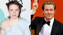 Quello che è successo dopo la bizzarra foto tra Lena Dunham e Brad Pitt dimostra che l'attore è un vero gentiluomo