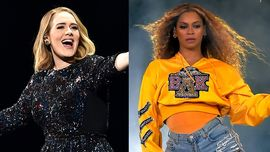 Adele come Beyoncé in una foto su Instagram per celebrare il nuovo visual album di Queen B