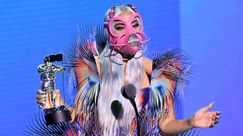 MTV VMA 2020, Lady Gaga: 9 epici cambi look in distanziamento sociale couture
