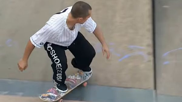 FABIO COLOMBO: UNO SKATER DALLO STILE INCREDIBILE [VIDEO DI SKATEBOARD]