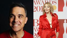 Robbie Williams ha in serbo un nuovo duetto con Kylie Minogue