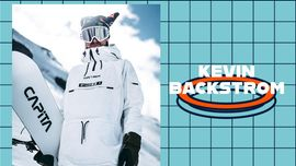 I trick di Kevin Backstrom che sfidano la gravità [VIDEO DI SNOWBOARD]