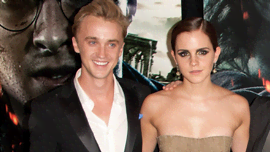 Questa foto throwback di Tom Felton e Emma Watson ti spronerà a fare i compiti