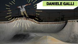 Daniele Galli e i suoi trick baciati dal sole [VIDEO DI SKATEBOARD]