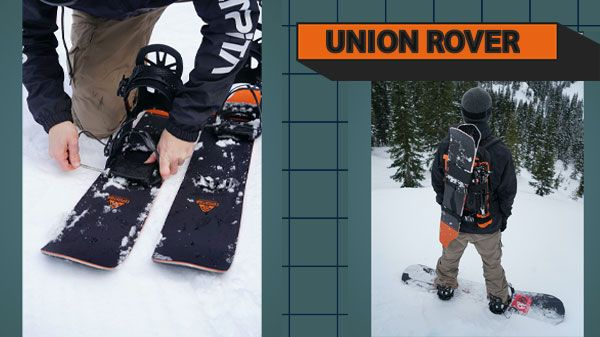 Union Rover: la nuova rivelazione del backcountry [VIDEO DI SNOWBOARD]