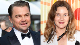 Drew Barrymore che flirta con Leonardo DiCaprio sul cambiamento climatico è mitica