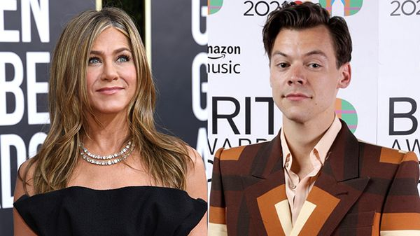 Jennifer Aniston eHarry Styles vestiti uguali, i fan e i fashionisti perdono la testa
