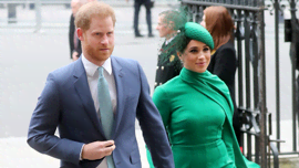 Harry e Meghan sono comparsi per la prima volta in pubblico dalla nascita di Lilibet