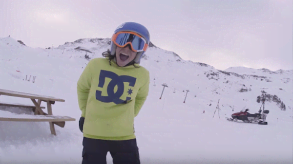 IAN MATTEOLI: UN FRONTSIDE DA URLO! [VIDEO DI SNOWBOARD]